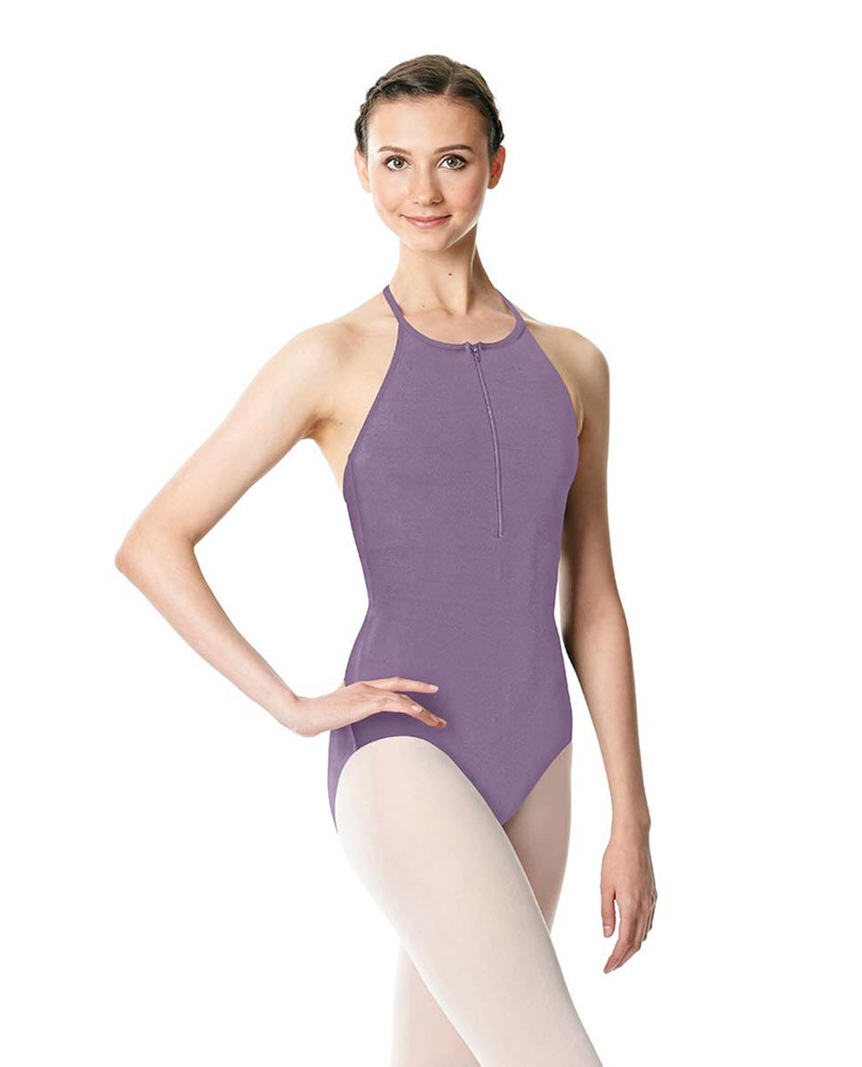 Hatler Neck Zipper Leotard Sarah LAV