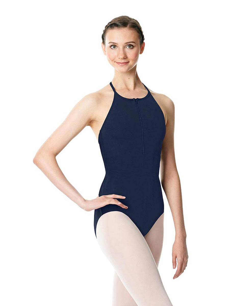 Hatler Neck Zipper Leotard Sarah NAY