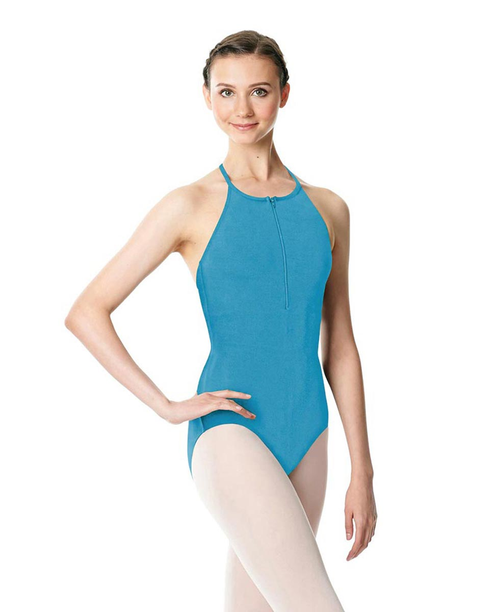 Hatler Neck Zipper Leotard Sarah TUR