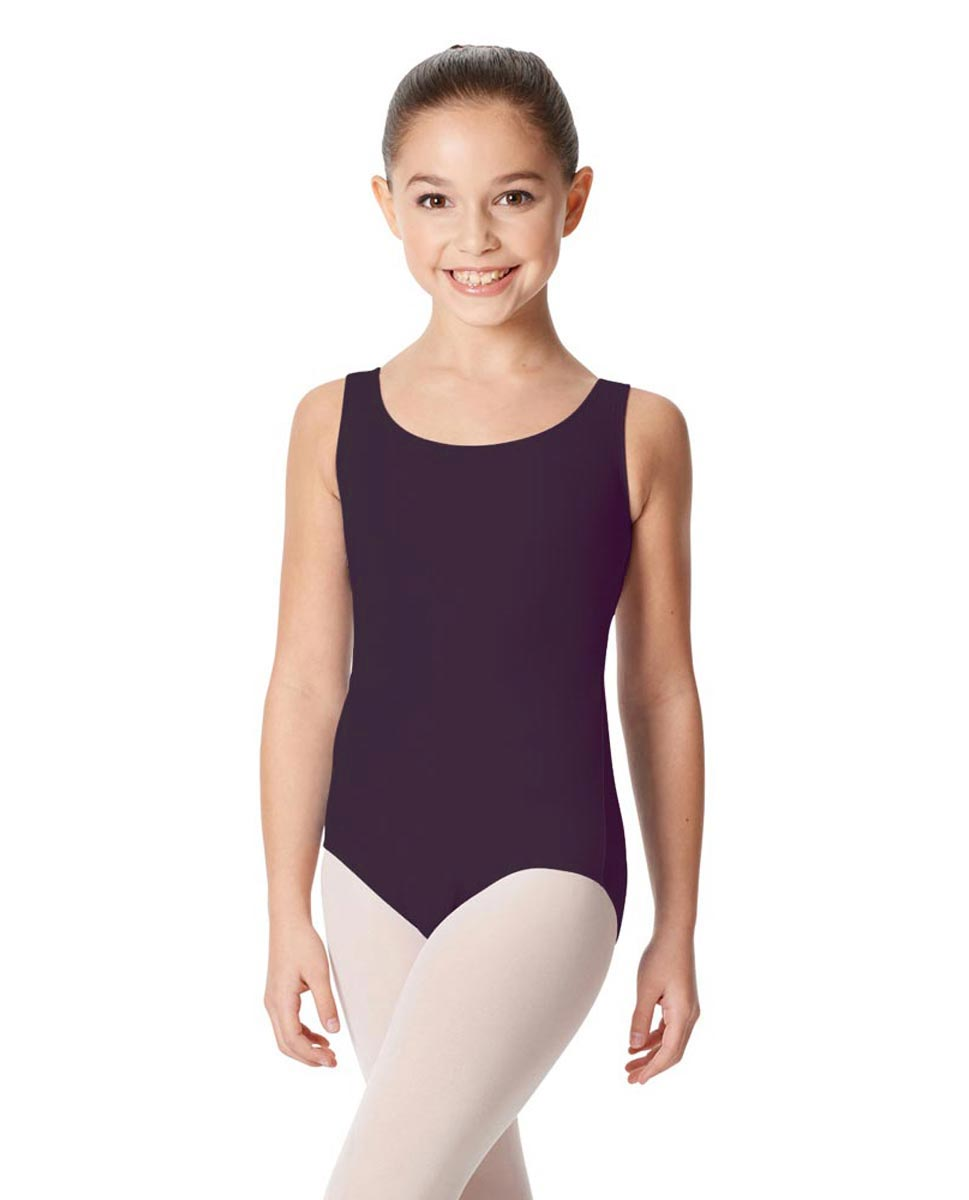 Children's Tank Cotton Leotard Charlie AUB