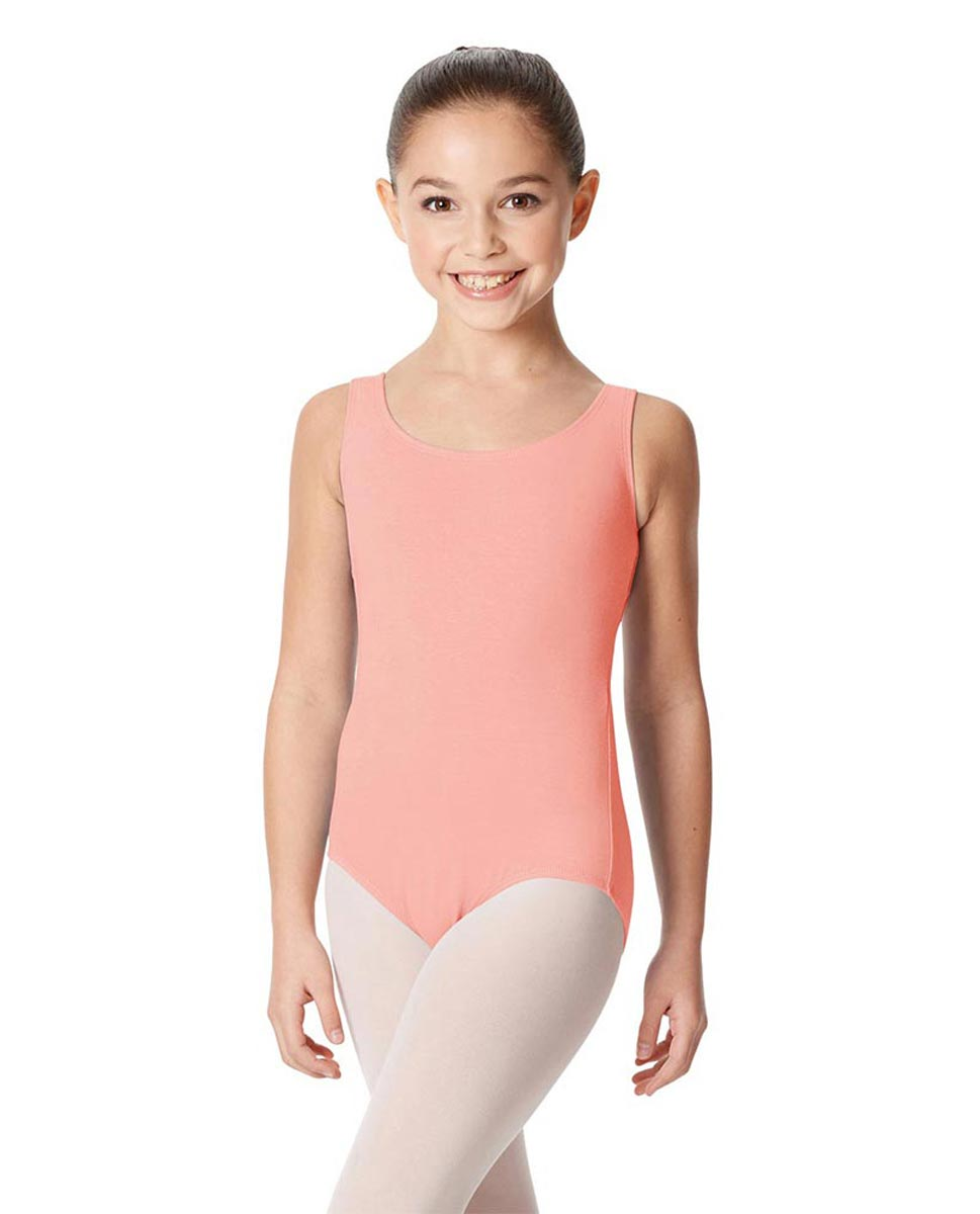 Children's Tank Cotton Leotard Charlie BPINK