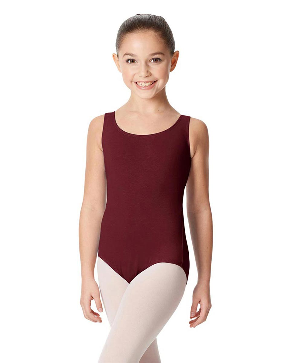 Children's Tank Cotton Leotard Charlie BUR