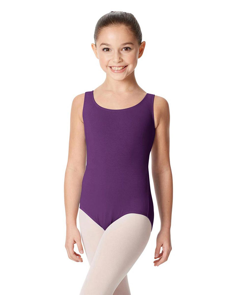 Children's Tank Cotton Leotard Charlie GRAP