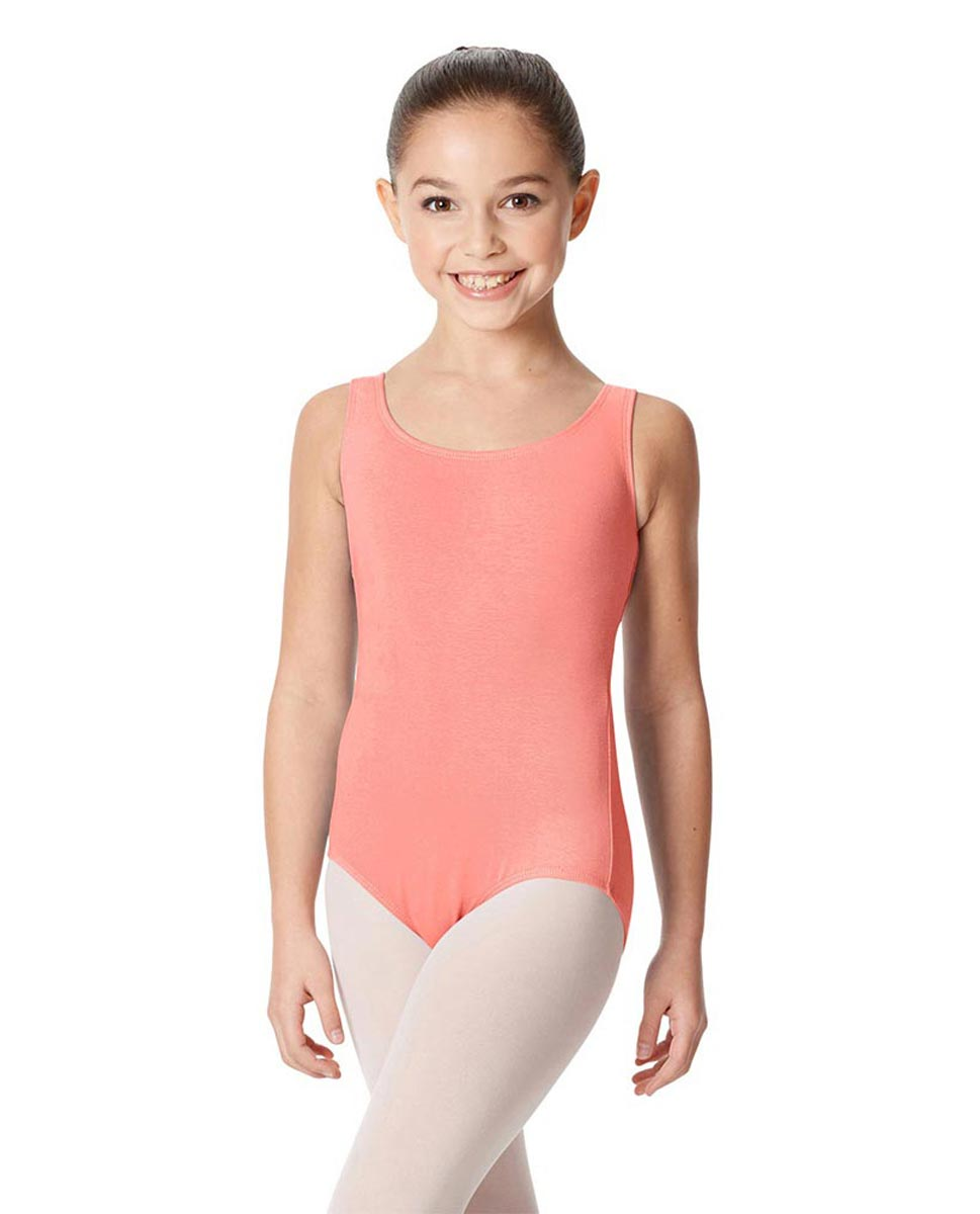 Children's Tank Cotton Leotard Charlie PEAC