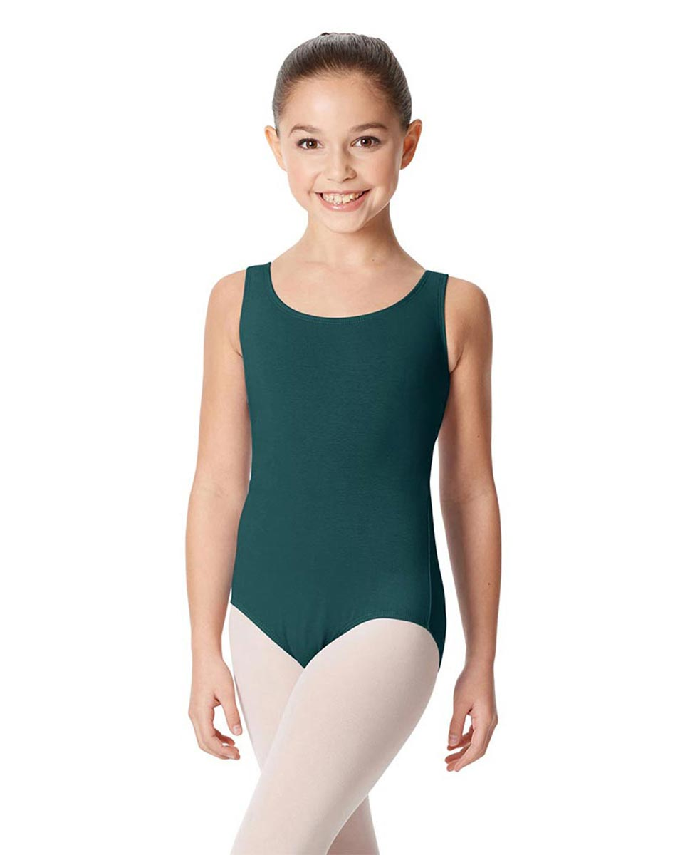 Children's Tank Cotton Leotard Charlie TEA