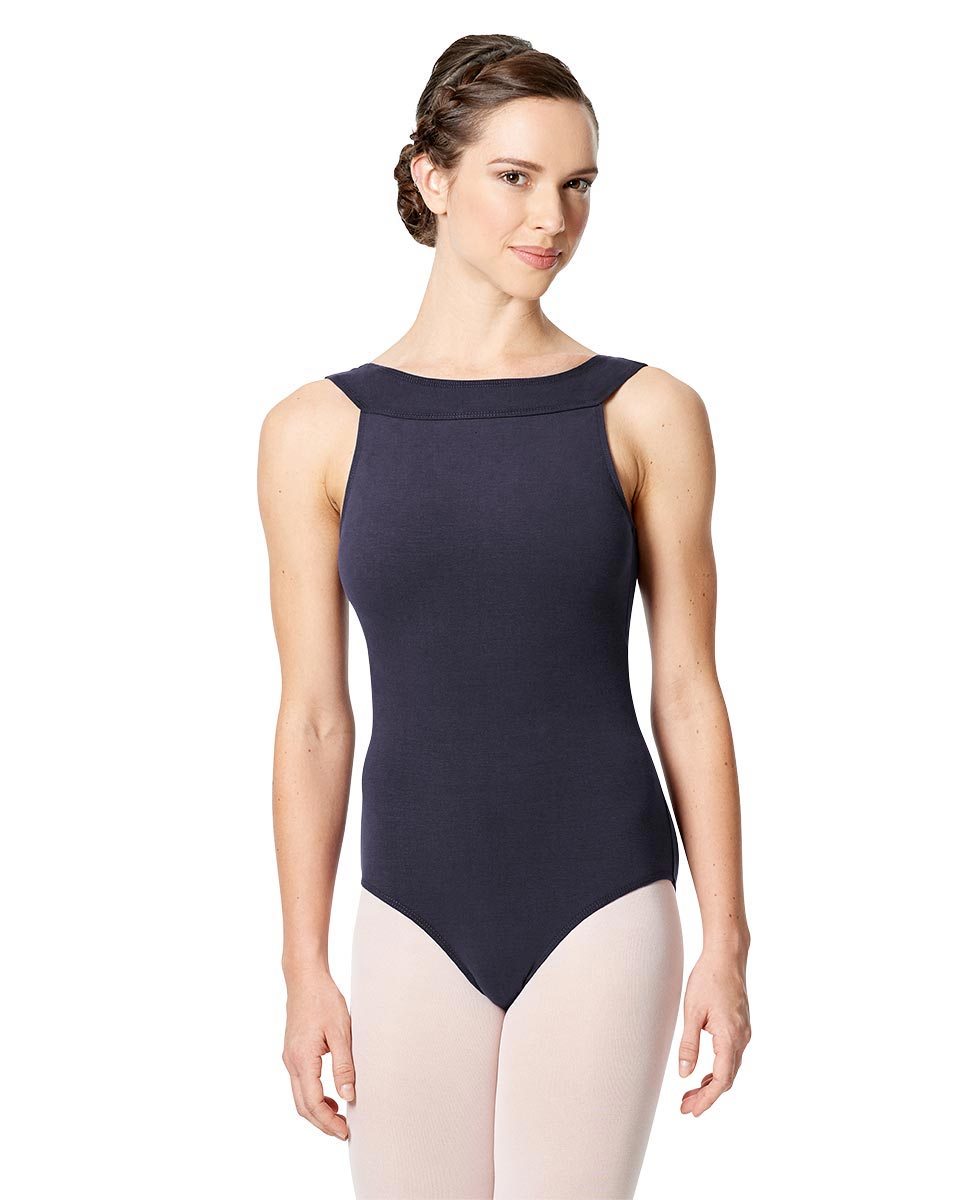 Tank Leotard Aneta with Cross Strap  NAY