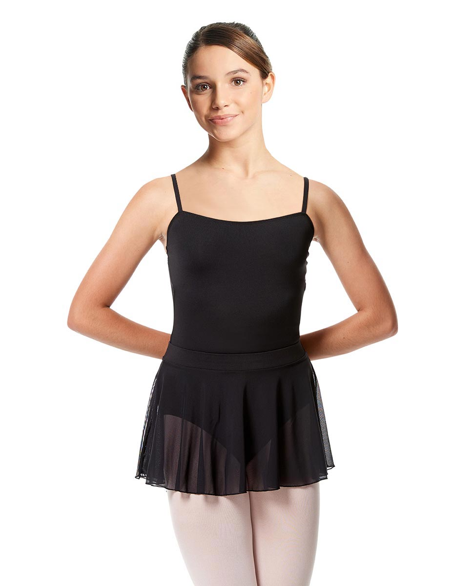 Girls Pull on Dance Skirt Hania BLK