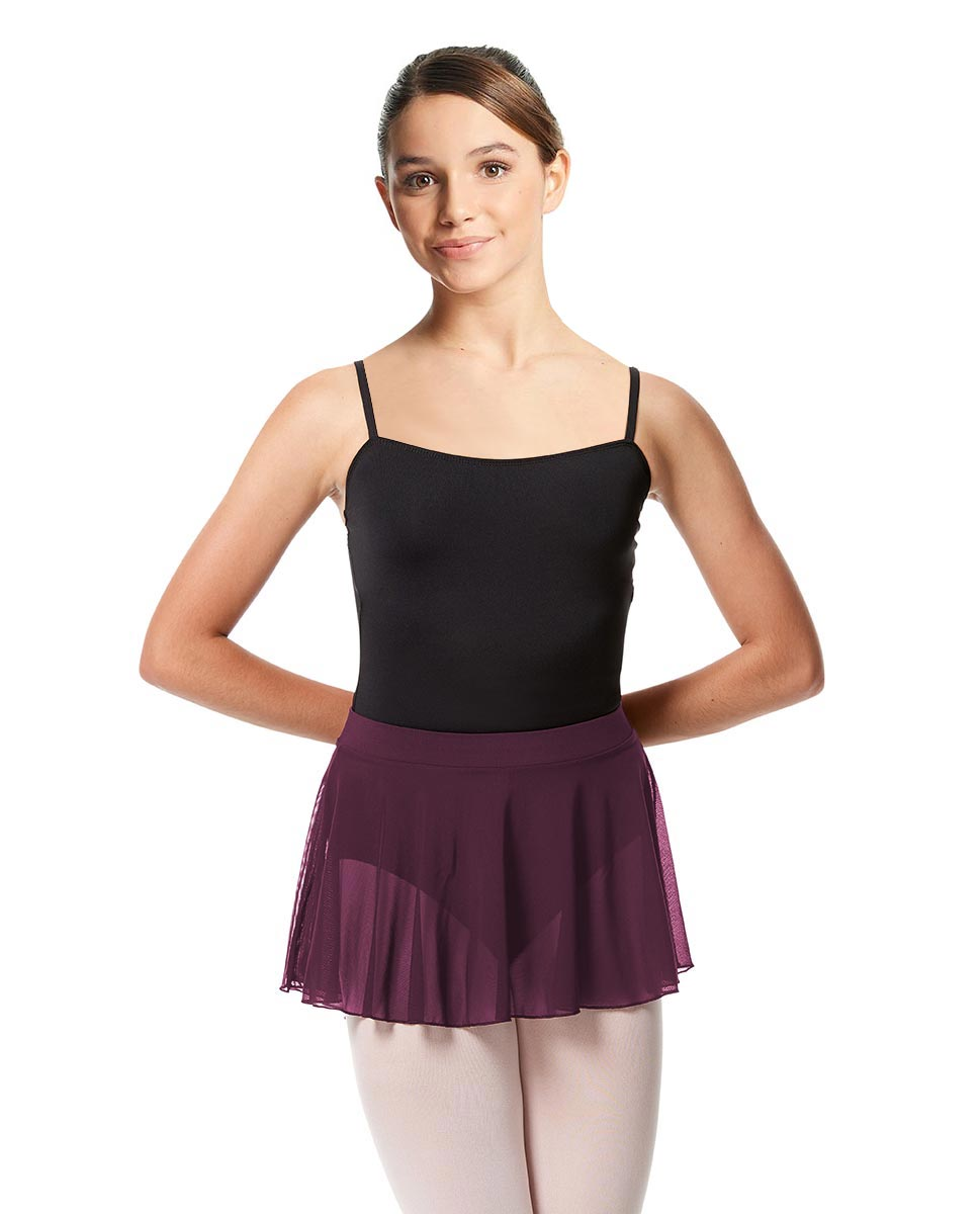 Girls Pull on Dance Skirt Hania WINE