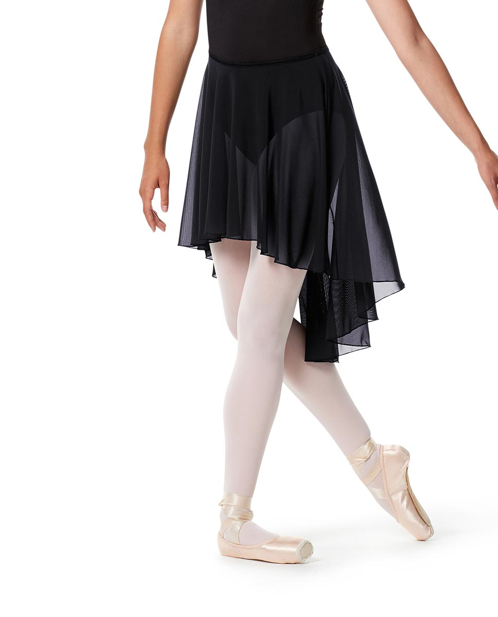 High-Low Ballet Mesh Skirt Lucrezia with Elastic Waistband NAY