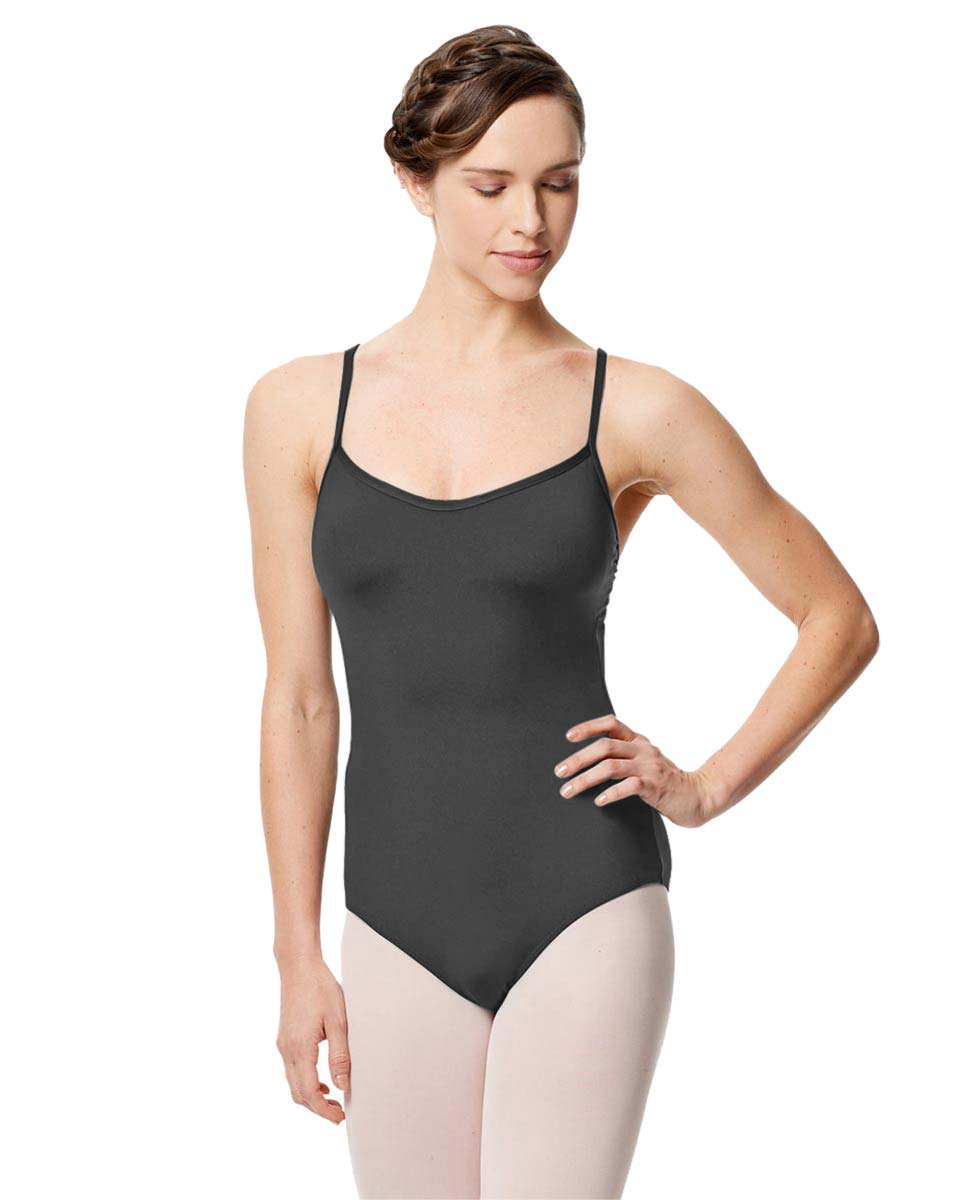 Microfiber Camisole Leotard With Removable Breast Cups Addie DGRE
