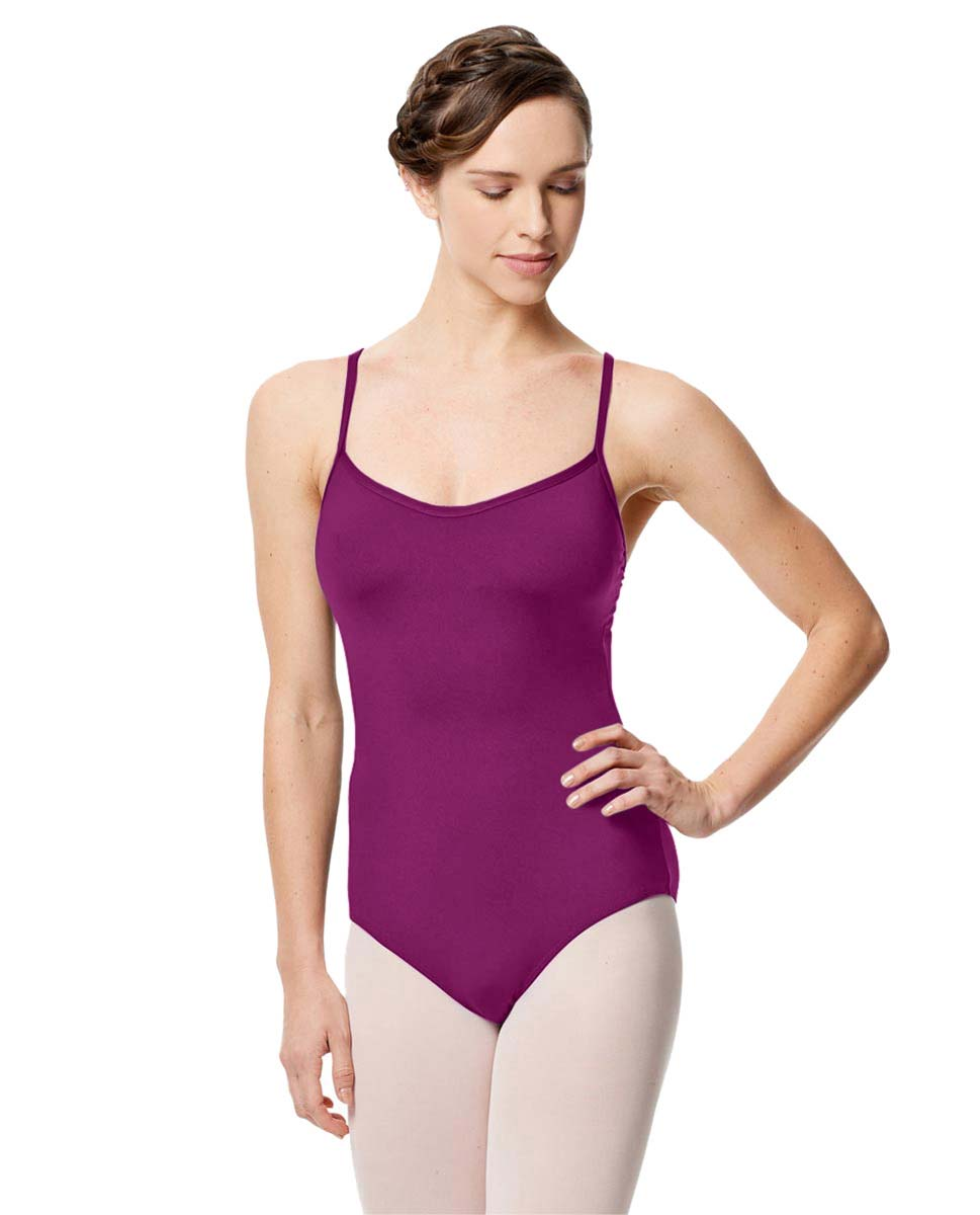 Microfiber Camisole Leotard With Removable Breast Cups Addie GRAP