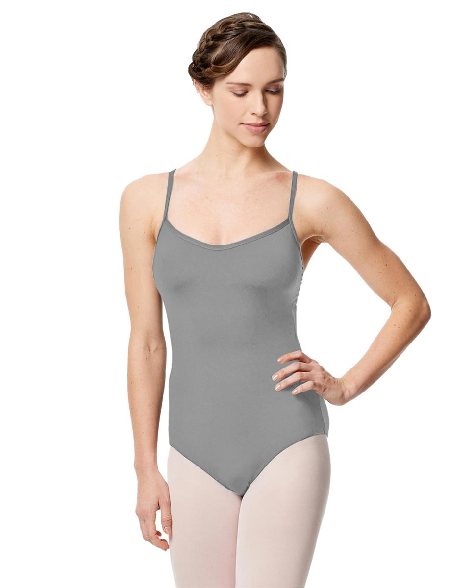 Microfiber Camisole Leotard With Removable Breast Cups Addie GRE