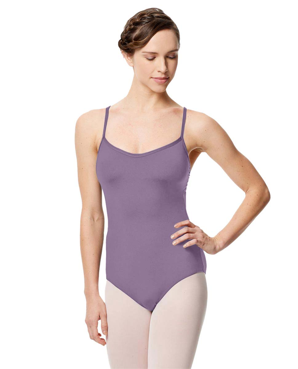Microfiber Camisole Leotard With Removable Breast Cups Addie LAV