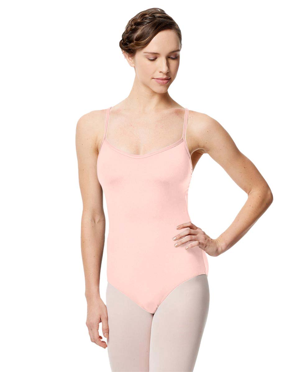 Microfiber Camisole Leotard With Removable Breast Cups Addie LPNK