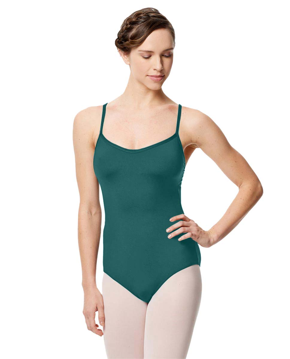 Microfiber Camisole Leotard With Removable Breast Cups Addie TEA