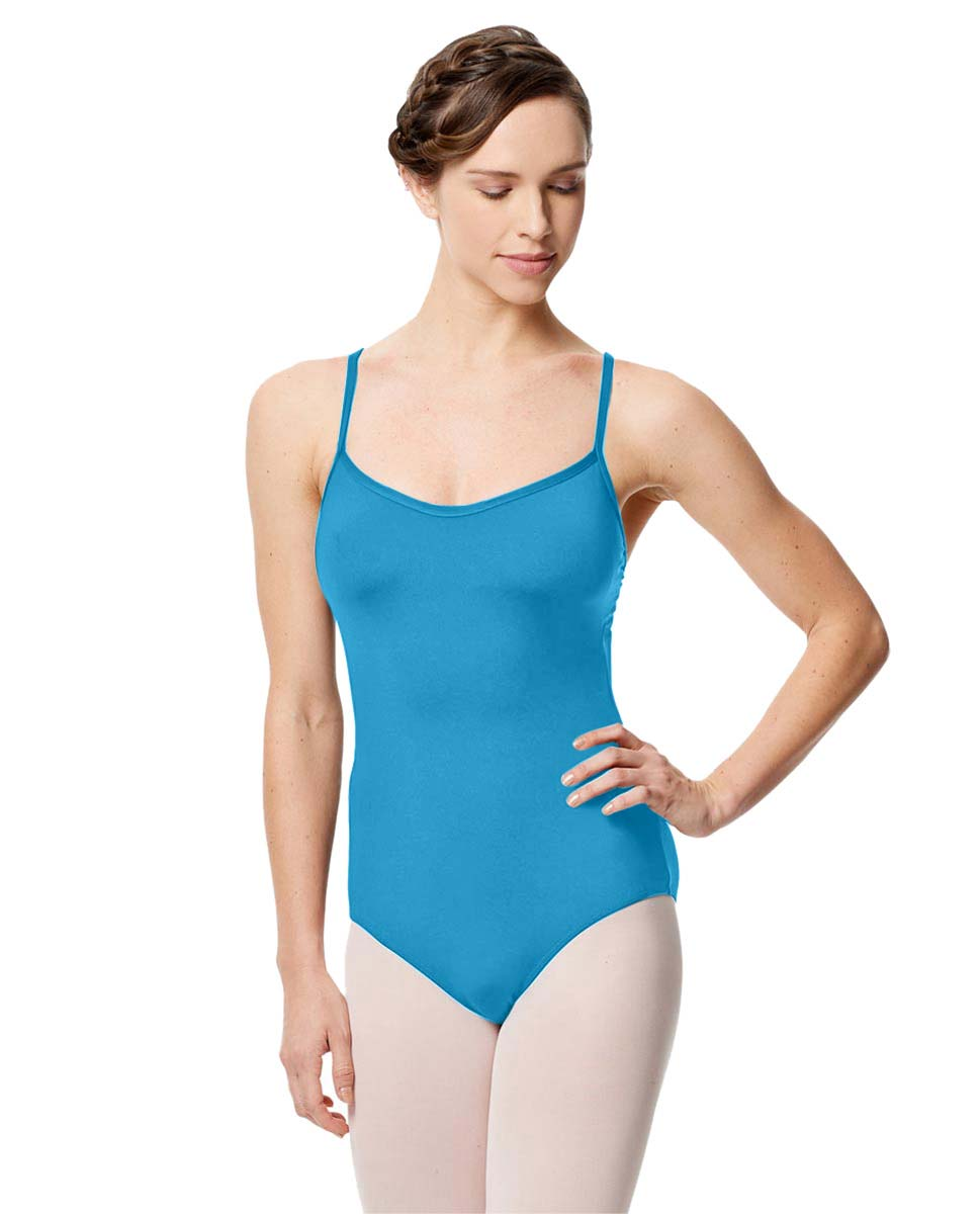 Microfiber Camisole Leotard With Removable Breast Cups Addie TUR