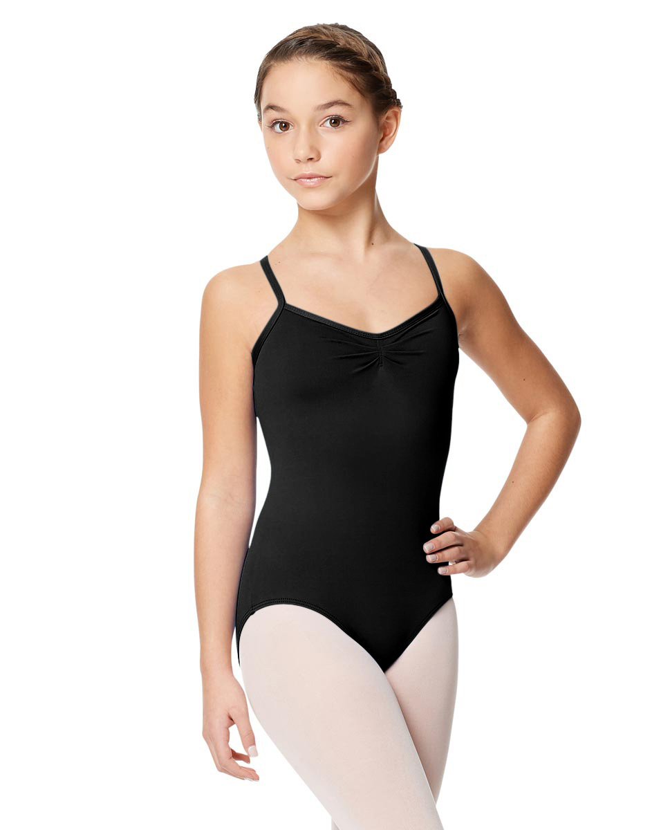 Tactel Ballet Leotard For Girls Alair BLK