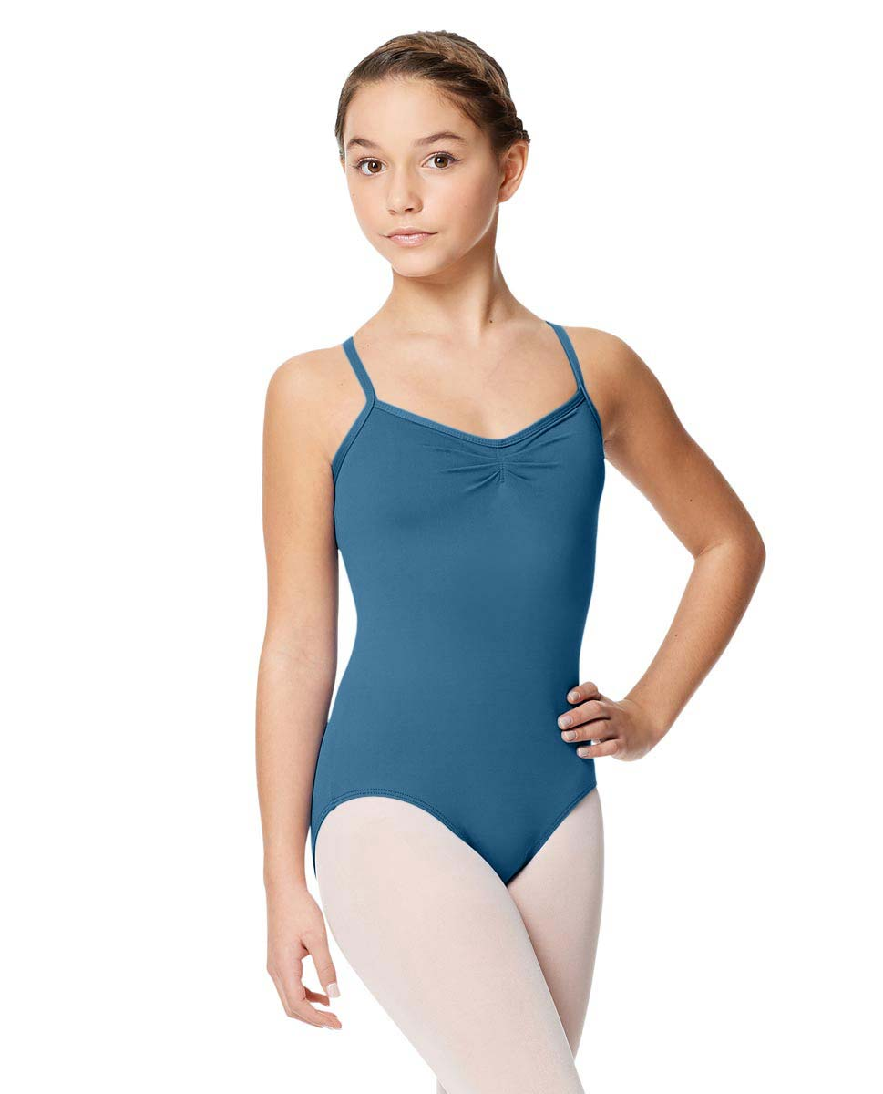 Tactel Ballet Leotard For Girls Alair BLUE
