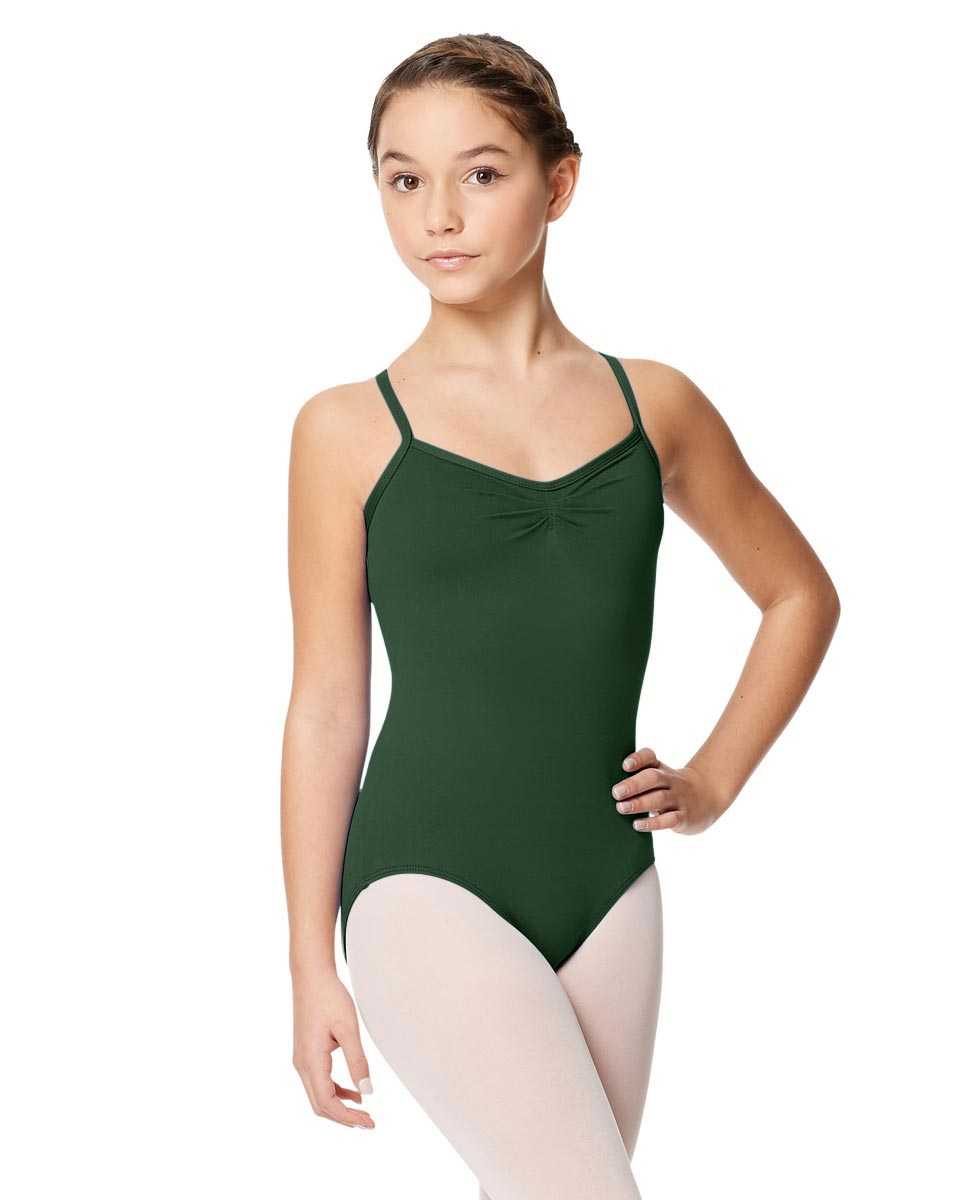 Tactel Ballet Leotard For Girls Alair DGREEN