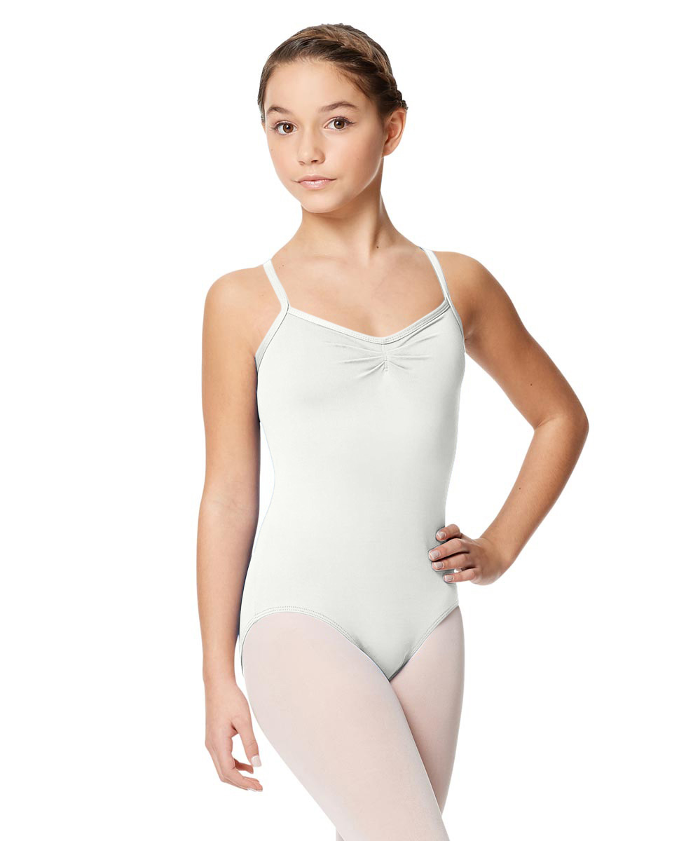 Tactel Ballet Leotard For Girls Alair WHI