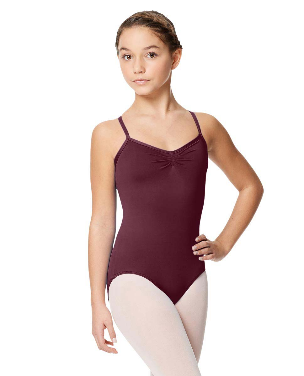Tactel Ballet Leotard For Girls Alair WINE
