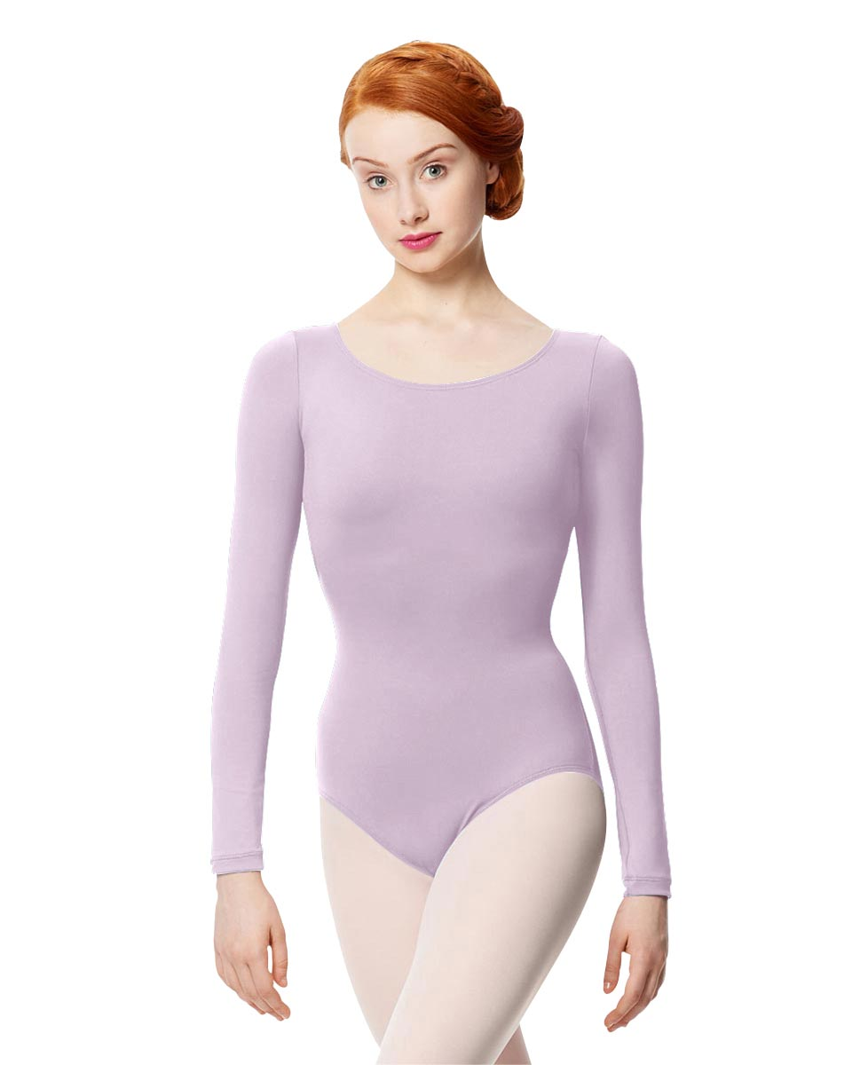Women Microfiber Long Sleeve Leotard Inez LIL