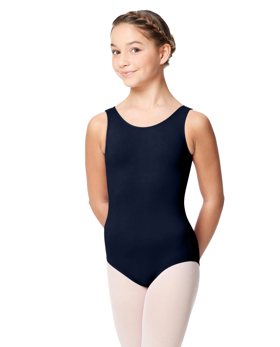 Girls Microfiber Tank Leotard Yolanda NAY