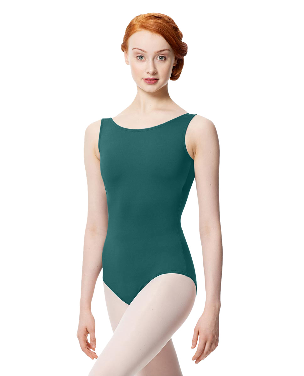 Women Microfiber Tank Leotard Yolanda TEA