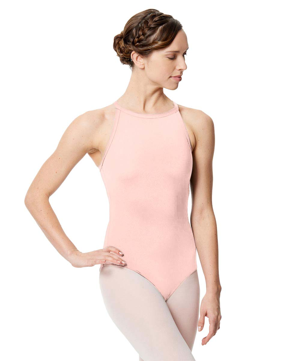 Women Microfiber Halter Neck Leotard Taliana LPNK