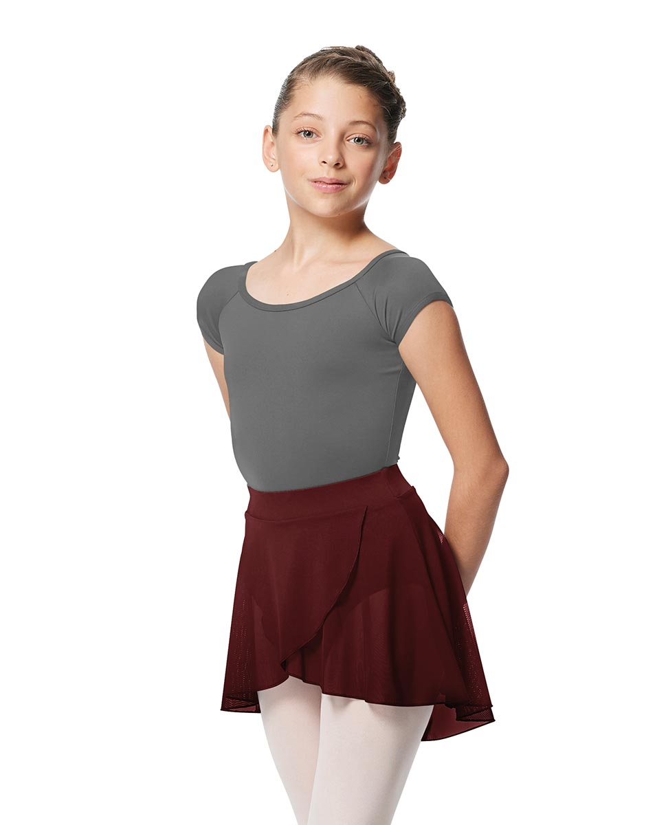 Girls Pull on Wrap Dance Skirt Natasha  BUR