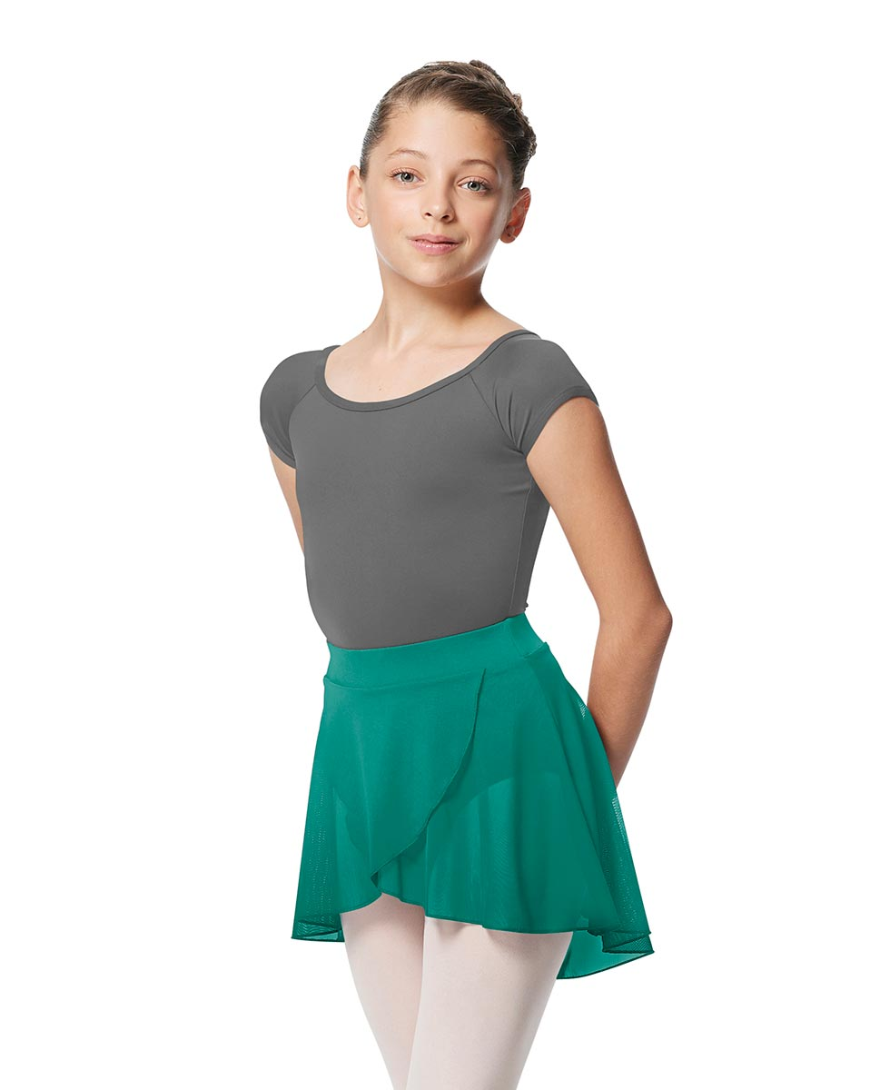 Girls Pull on Wrap Dance Skirt Natasha  JAD