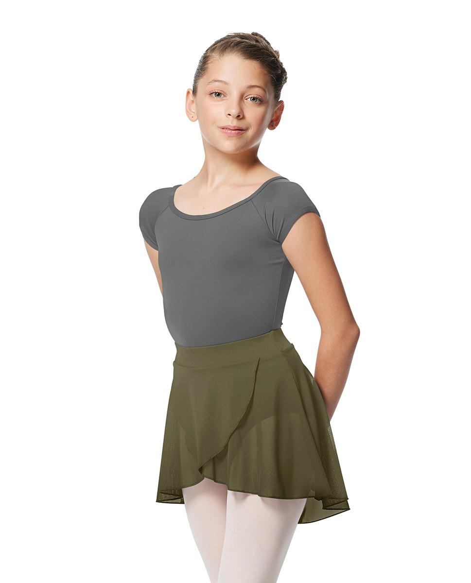 Girls Pull on Wrap Dance Skirt Natasha  KHA