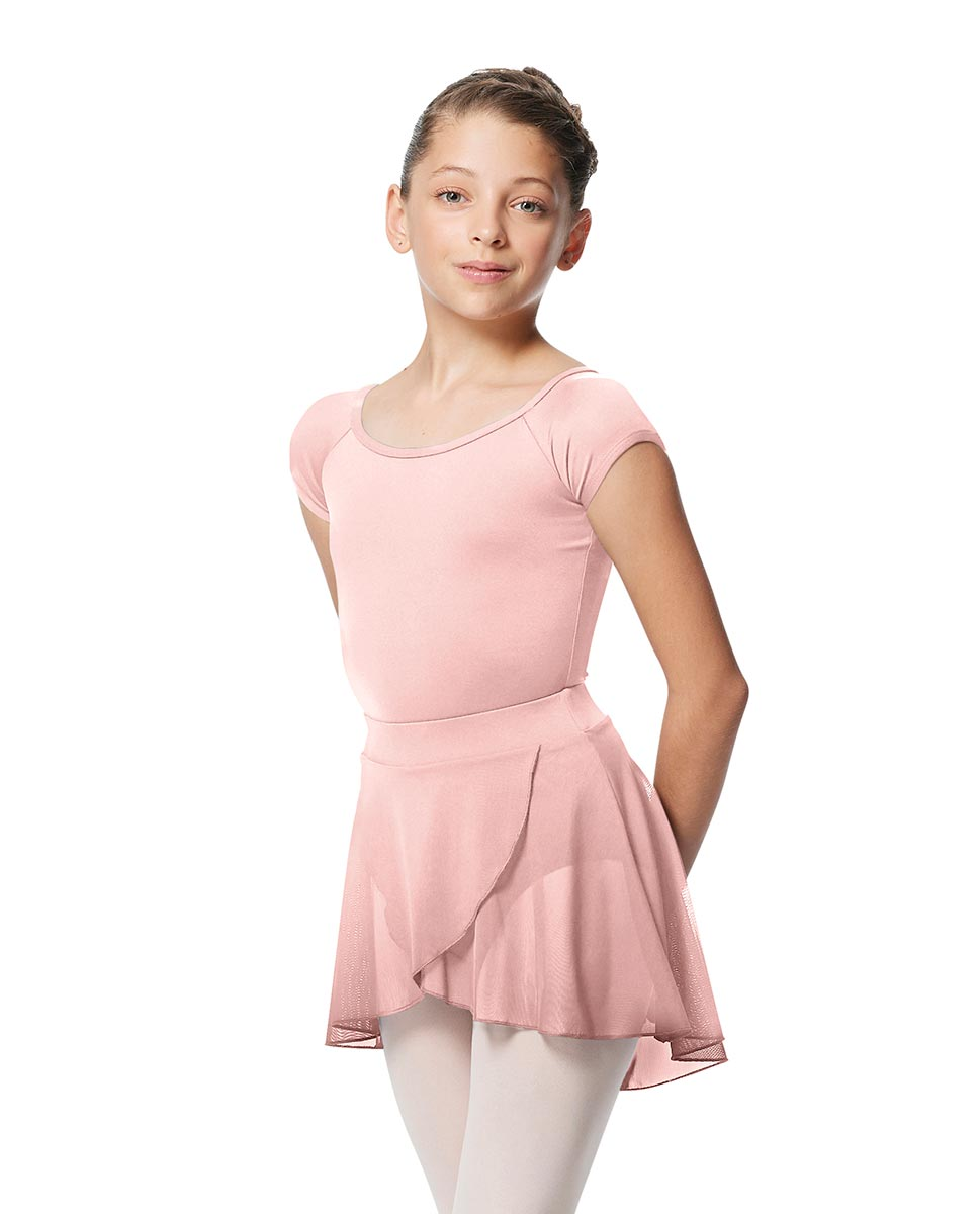 Girls Pull on Wrap Dance Skirt Natasha  LPNK