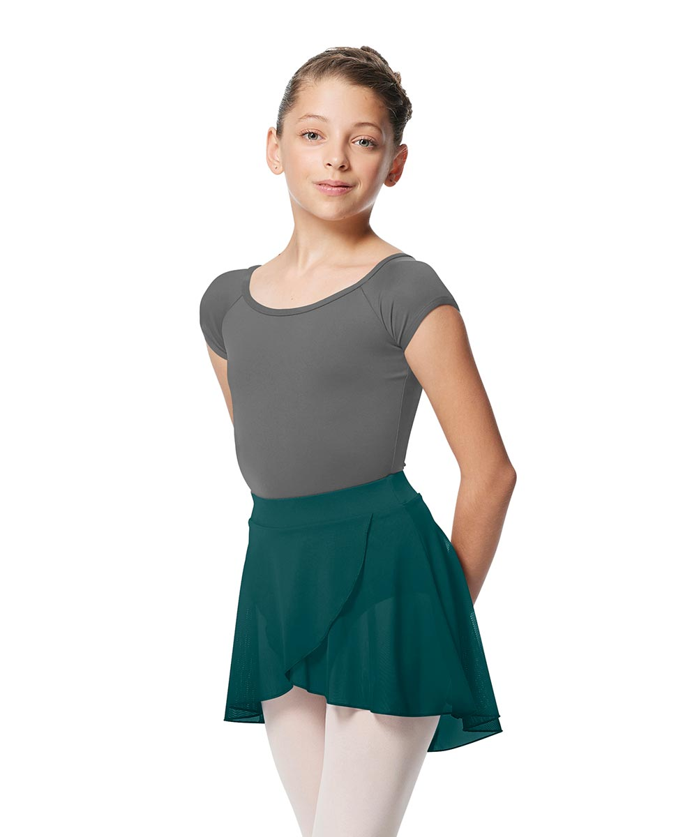 Girls Pull on Wrap Dance Skirt Natasha  TEA