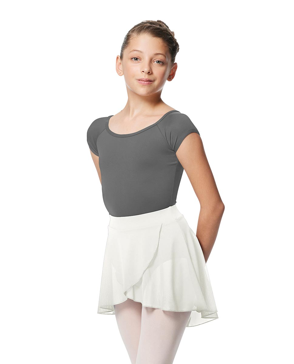 Girls Pull on Wrap Dance Skirt Natasha  WHI