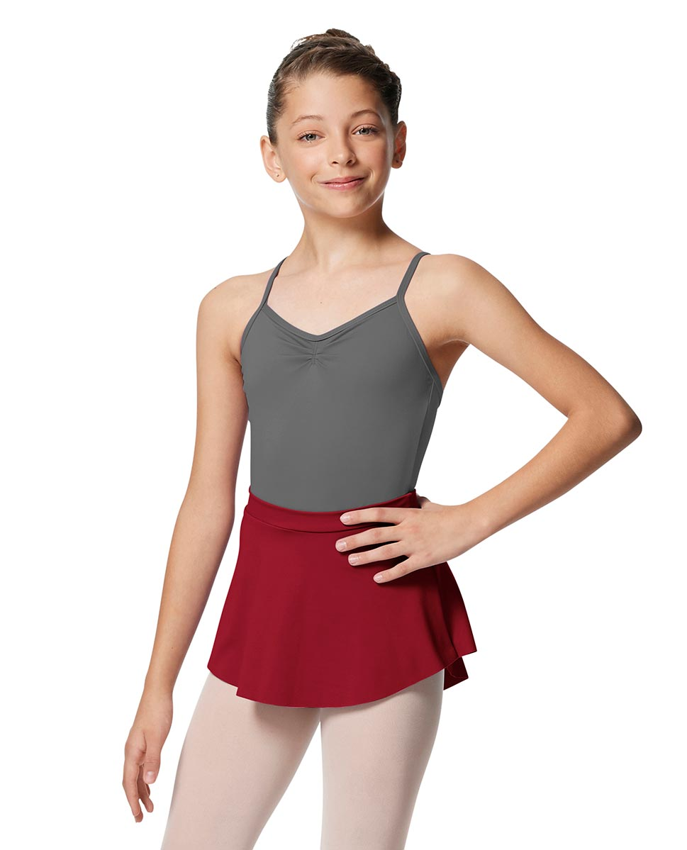 Girls Pull On Tactel Short Dance Skirt Ksenia DRED