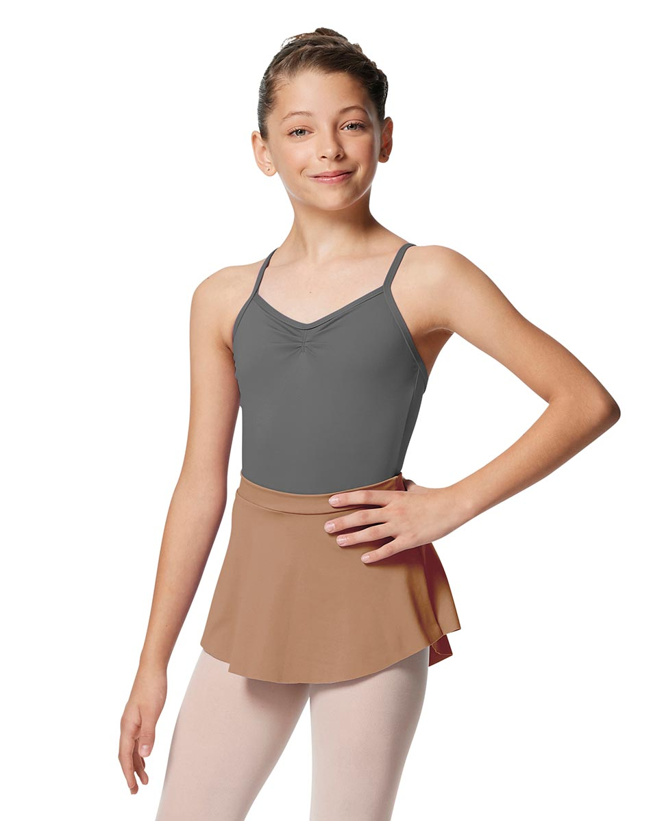 Girls Pull On Tactel Short Dance Skirt Ksenia NUD