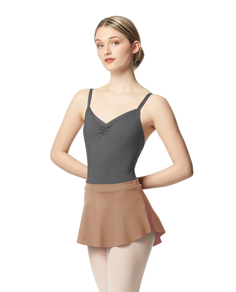 Pull On Tactel Dance Skirt Ksenia NUD