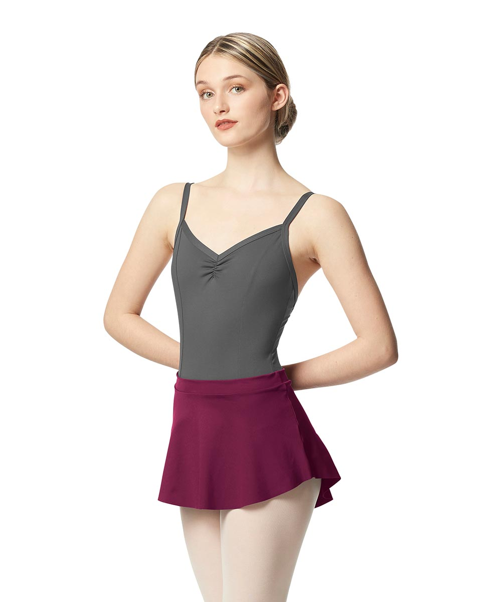 Pull On Tactel Dance Skirt Ksenia WINE