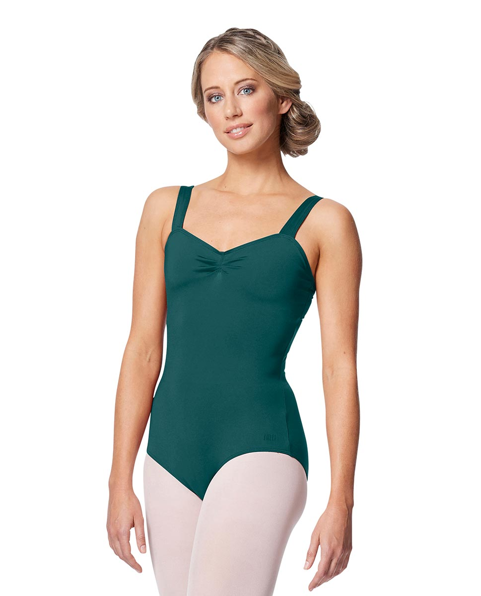 Women Wide Strap Camisole Leotard Cadina TEA