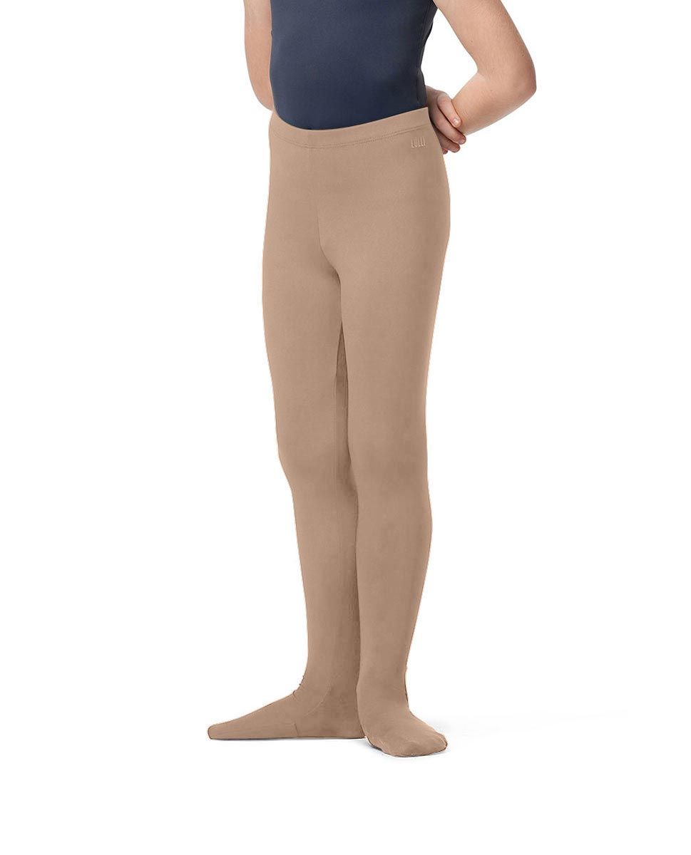 Boys Tactel Footed Ballet Tights Raphael NUD