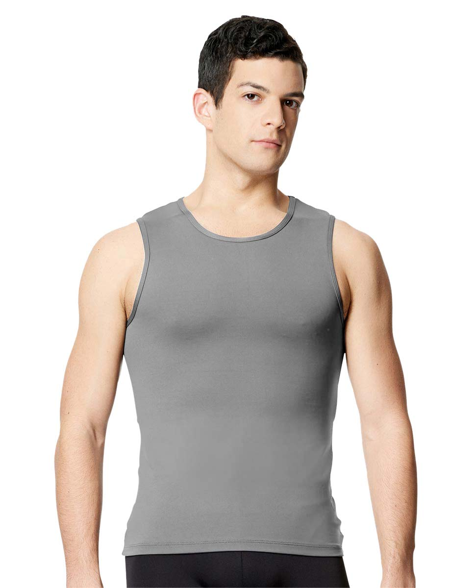 Mens Microfiber Tank Dance Top Leo GRE