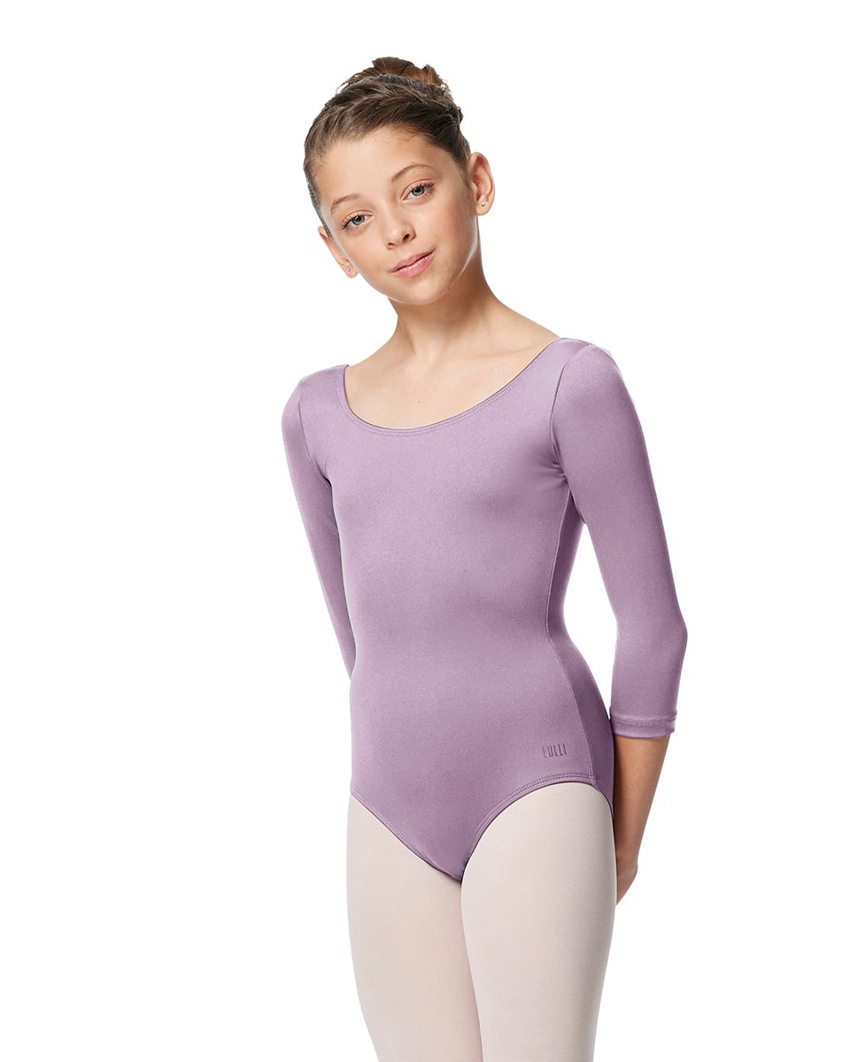 Girls V Back Long Sleeve Tactel Dance Leotard Veronika LIL
