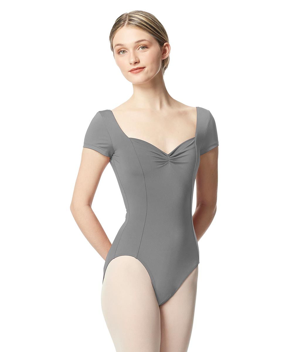 Women Short Sleeve Tactel Dance Leotard Anfisa GRE