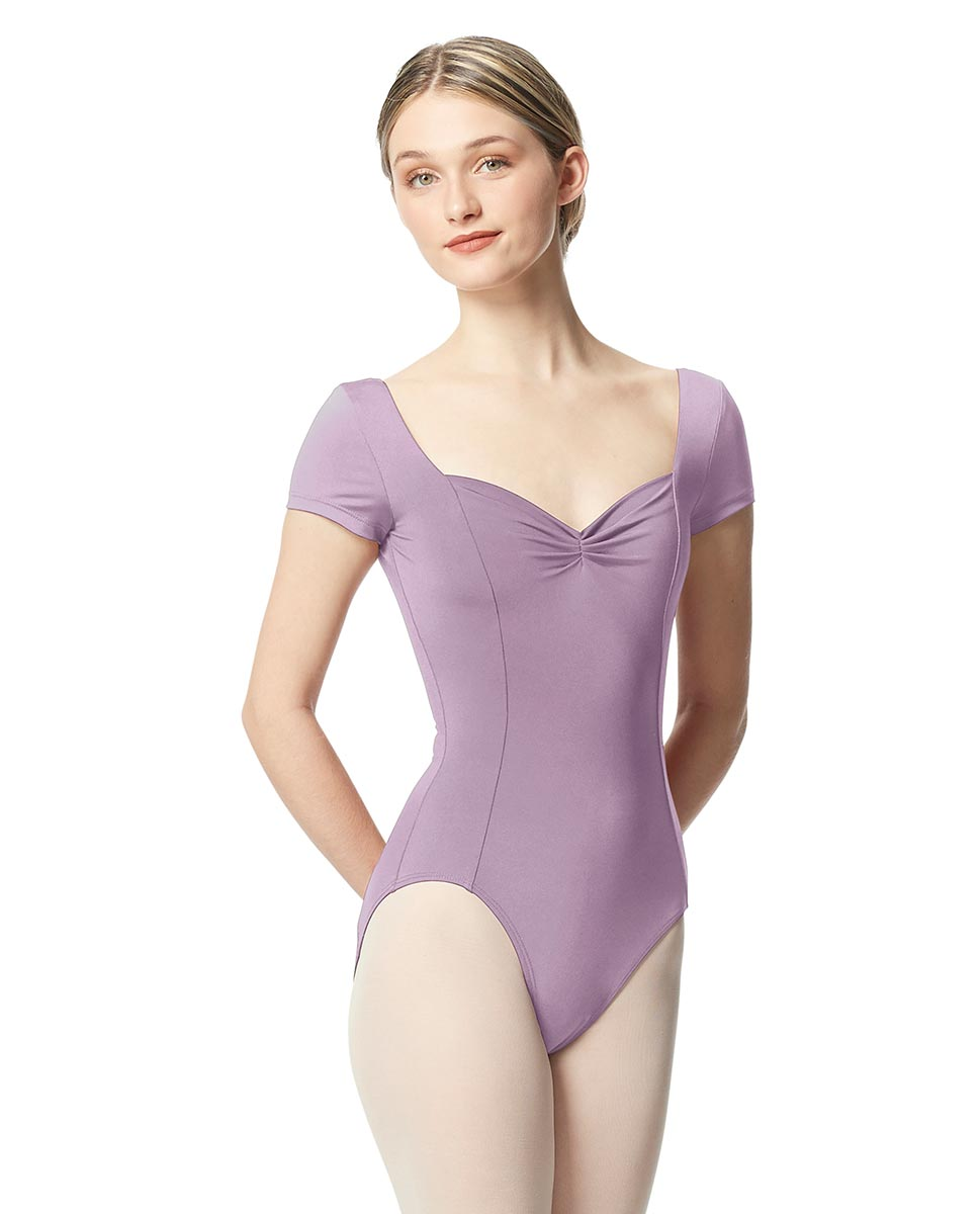 Women Short Sleeve Tactel Dance Leotard Anfisa LIL