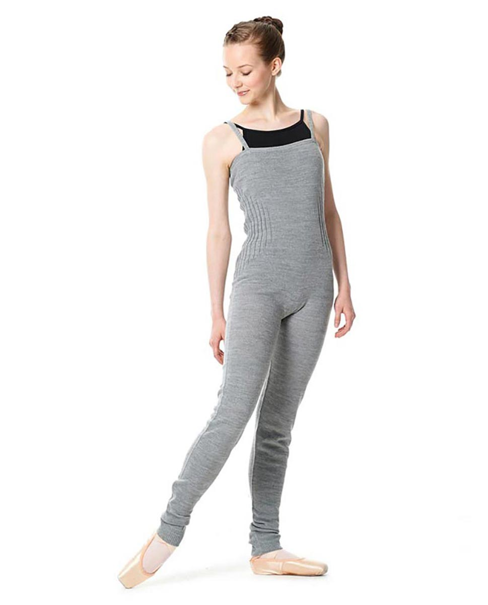 LULLI Knit Warm ups Overalls With Ankle Cuffs GRE