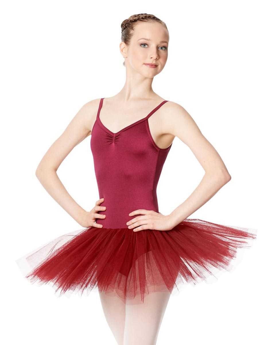 Ballet Camisole Tutu 4 Layer Tulle Dress Everly BUR