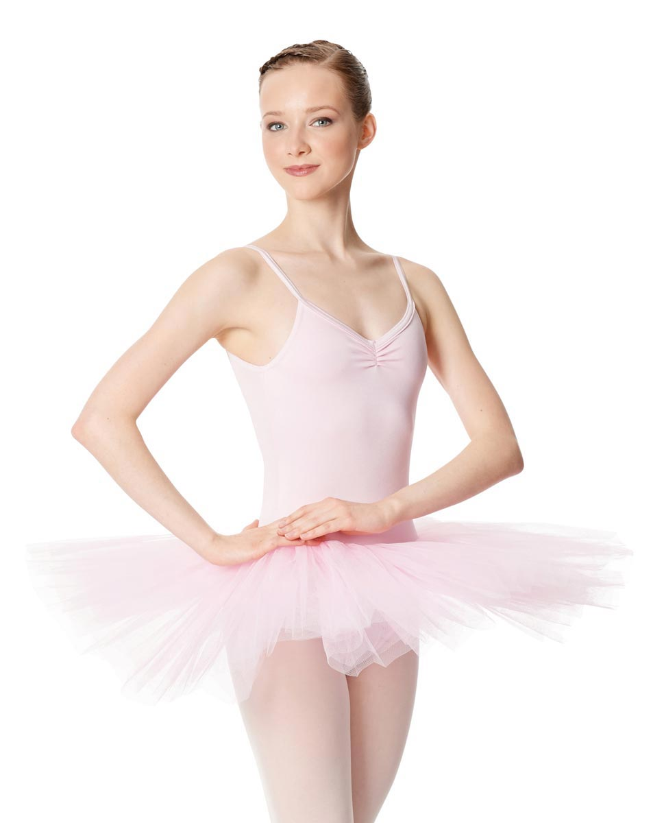 Ballet Camisole Tutu 4 Layer Tulle Dress Everly PNK