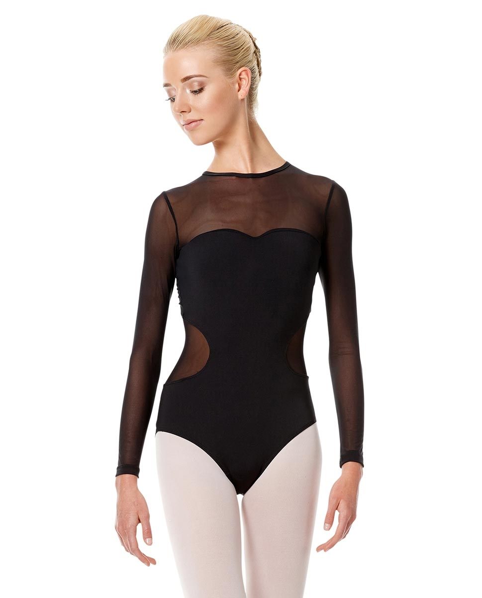 Long Sleeve Performance Leotard Renata