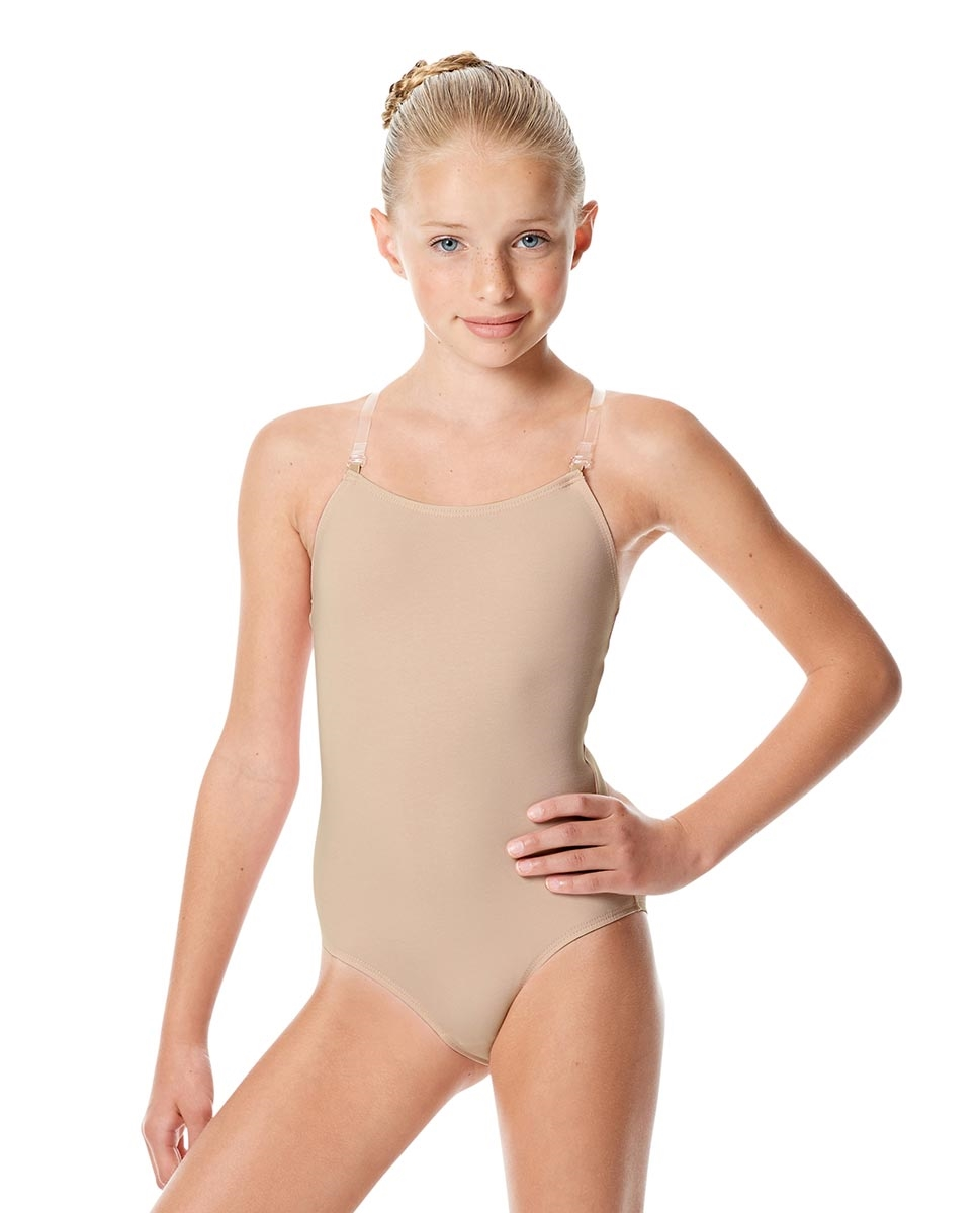 Girls Nude Camisole Brief Bodysuit Geneva